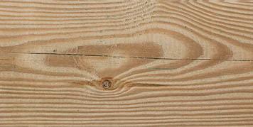 Slight cracks in timber