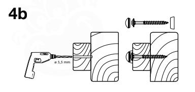 Figuur 4b: Stealth fasteners