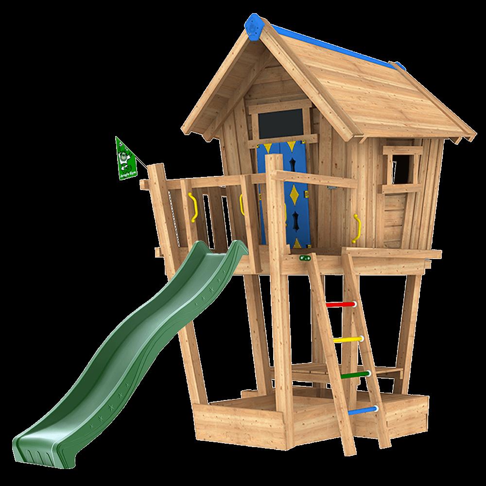 Wooden Playground Equipment For Your Garden Jungle Gym
